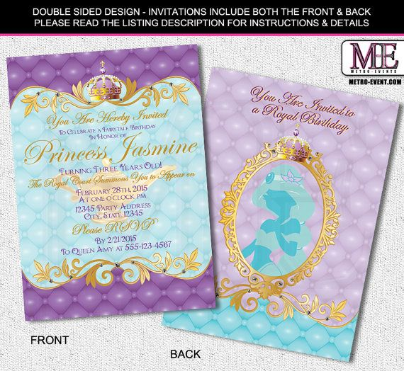 jasmine birthday party invitation best of princess jasmine party invitations mickey mouse invitations new disney donna