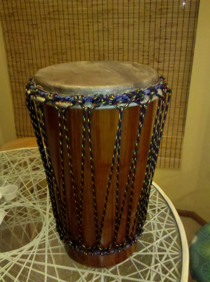 ashika drum that i made with somali refugee students at my