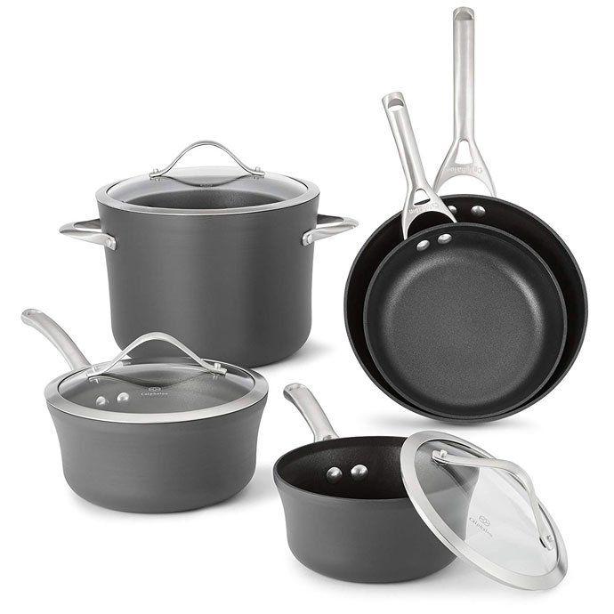 10 Best Dishwasher Safe Pots And Pans Cookware Sets 2020 Calphalon Contemporary Nonstick Cookware Cookware Set
