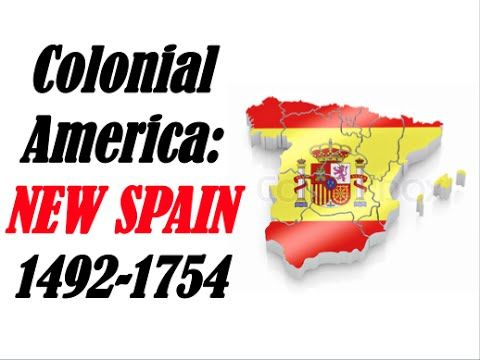 APUSH Review: Colonial America New Spain - YouTube