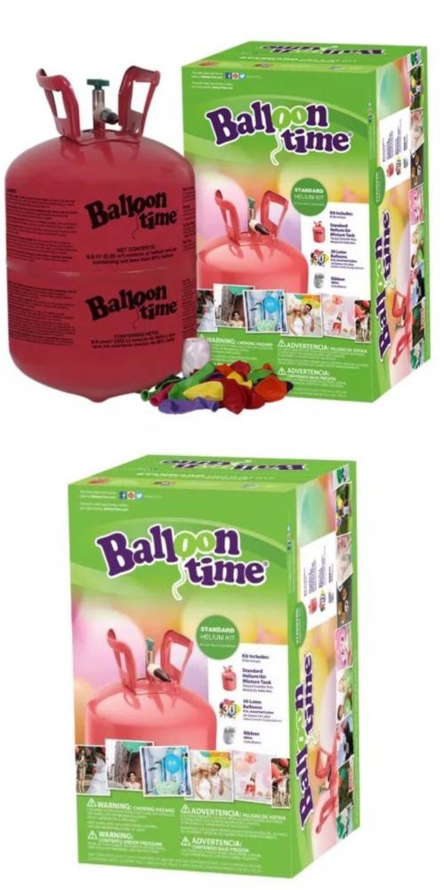 Balloons 26384: Balloon Time Disposable Helium Tank 30 Balloons Included. Free Shipping ! -> BUY IT NOW ONLY: $46.99 on eBay!
