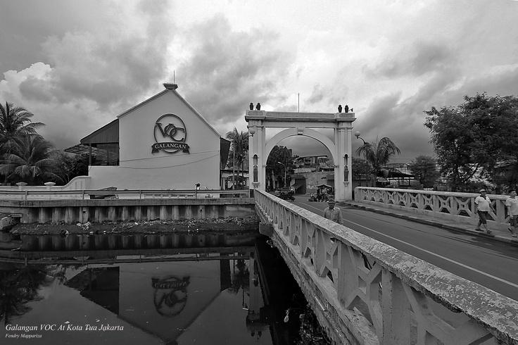 Galangan VOC di kota tua Jakarta
