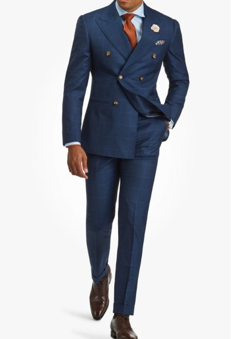 Buying my first double breasted suit. Is it nice or too old style?