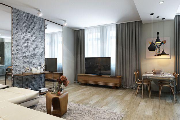 Проект недели: функциональная квартира для женщины средних лет - InMyRoom.ru