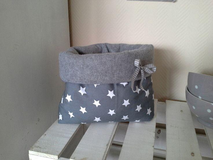 Deko-Objekte - Untensilo aus flauschigem Fleecestoff, Sterne - ein Designerstück von primaliese bei DaWanda