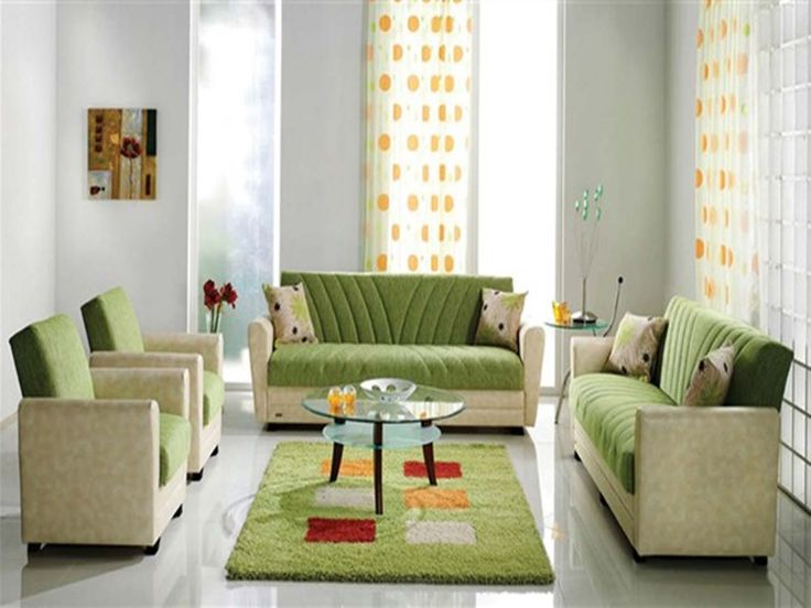 Green Best Living Room Low Budget ~ http://www.lookmyhomes.com/15-best-low-budget-living-room-design/