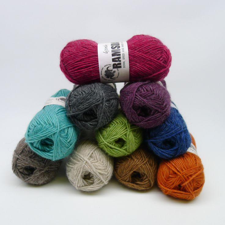 Ramsdale is born, bred and made in Yorkshire, it is 100% Wool using a blend of Masham fleece from the Yorkshire dales. It is then dyed, spun and balled all in Yorkshire!! It has a wonderful handle, knits beautifully and comes in 10 gorgeous colours. http://www.tbramsden.co.uk/catalog/yarns/wendy-classics/wendy_ramsdale