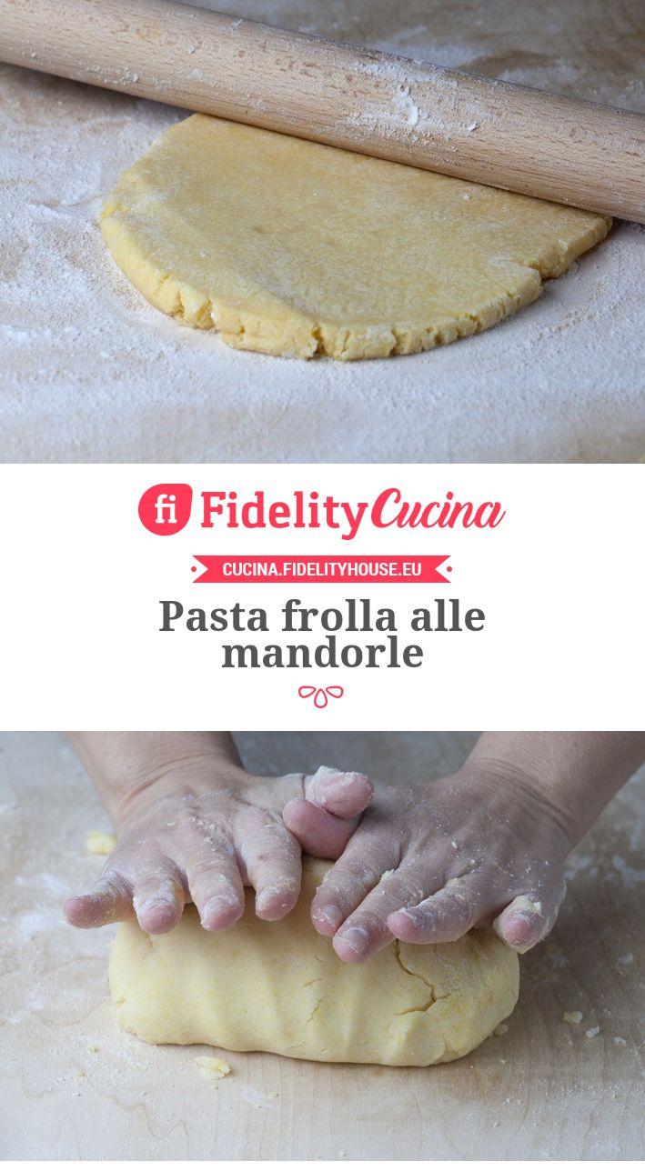 Pasta Frolla Alle Mandorle Recipes Biscotti Desserts Yummy Food