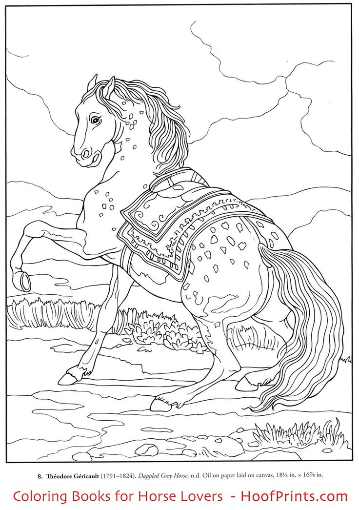 httpwwwhoofprintscomcolor your own - Horse Trailer Coloring Pages
