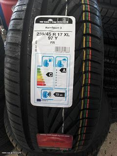 www.elastika4u.gr: ΕΛΑΣΤΙΚΑ UNIROYAL 235/45/17 RAINSPORT 3 XL 97 Y ΤΙ...