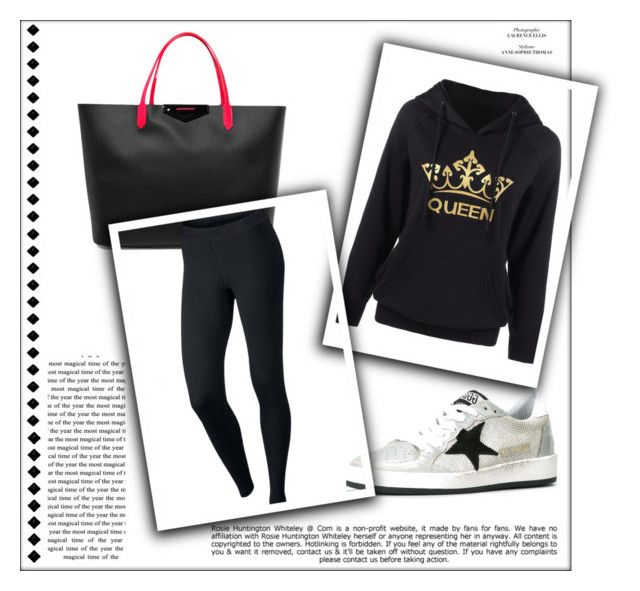 """Violet - Leaving the Hospital"" by miriam83 ❤ liked on Polyvore featuring Givenchy, Golden Goose, NIKE and Whiteley"