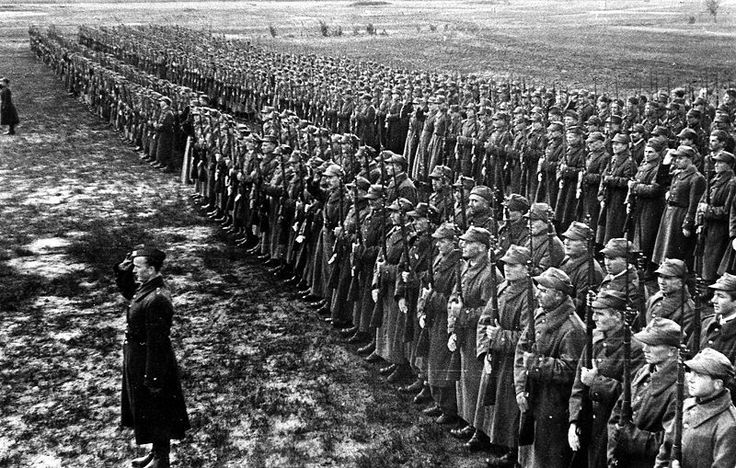 Forces of Polish Anders Army in Russia 1942