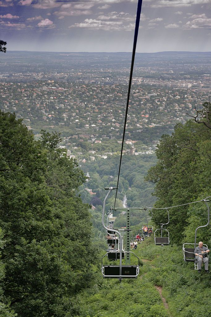 Libego - Chairlift in Budapest