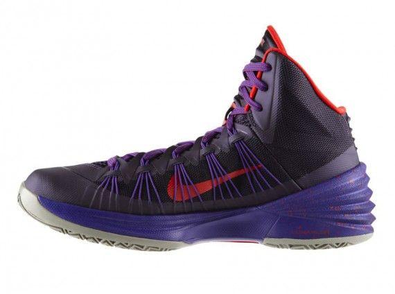 Nike Hyperdunk 2013 Purple Dynasty University Red 3 � Basketball Shoes University
