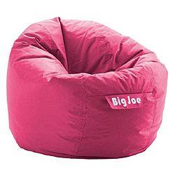 BeanSack Joe Fuchsia Pink Bean Bag Chair 3499