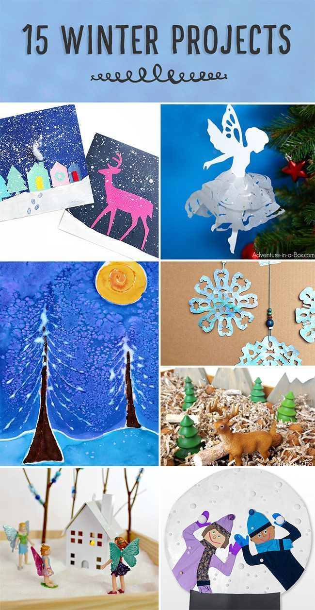 Winter Projects Winter Activities For Kids Pinterest Winter