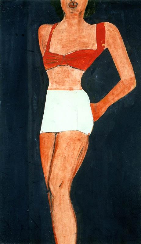 Jerzy Nowosielski | Kobieta, 1950