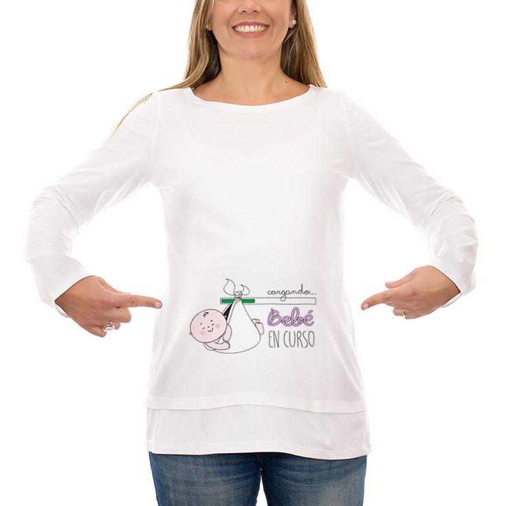 Camisetas divertidas y originales para embarazadas y regalos para papás primerizos