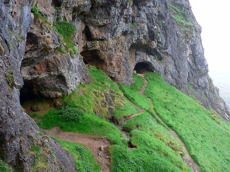Inchnadamph Bone Caves near Ullapool, Scotland