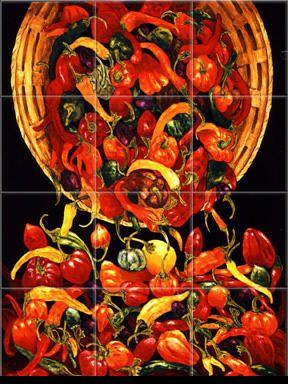 Kitchen Tile Murals Tile Art Backsplashes