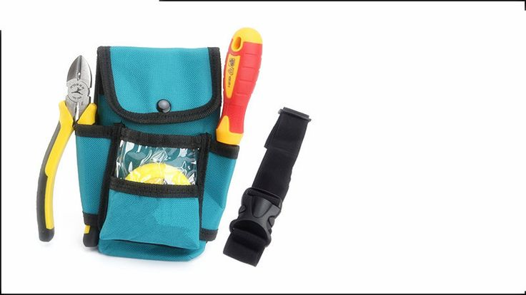 Professional Electrician Tool Bag Belt Pouch Utility Pouch Work Tape Buckle Convenient Tool Bag