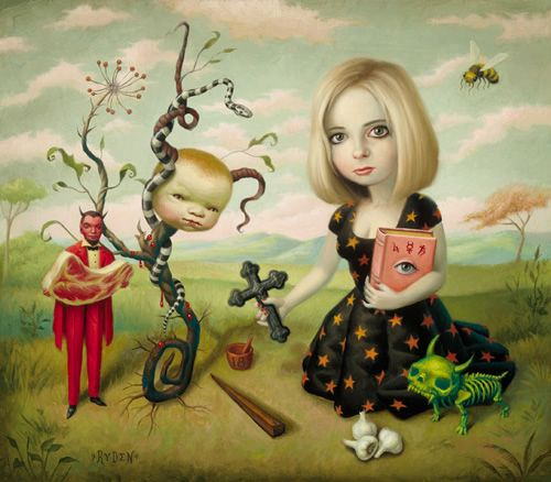 Mark Ryden-Slayer: Art Stuff, Favorite Artists, Surrealism Art, Artistmark Ryden, Vampires Slayer, Artists Mark, Artsy Fartsi, Ryden Art, Pop Surrealism