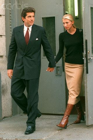 Lily Lemontree: Style Icon: Carolyn Bessette Kennedy. One of my favorite looks. Ever. #Legend