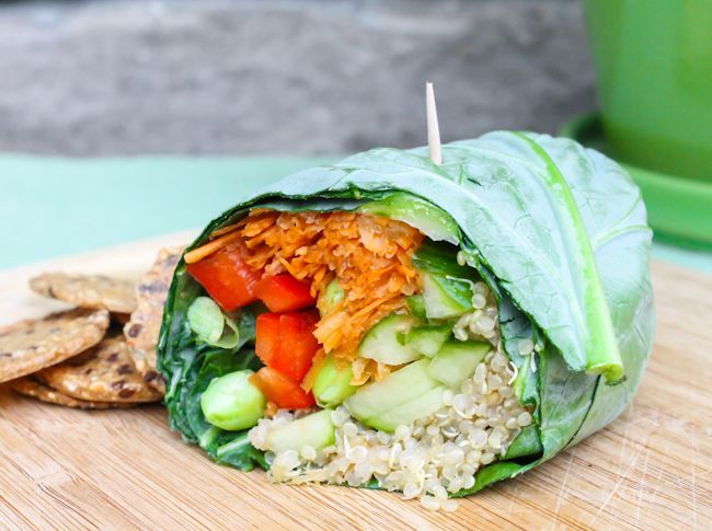 Live Energized Alkaline Recipe #180: Wheat-Free Quinoa and Hummus Wraps - Live Energized
