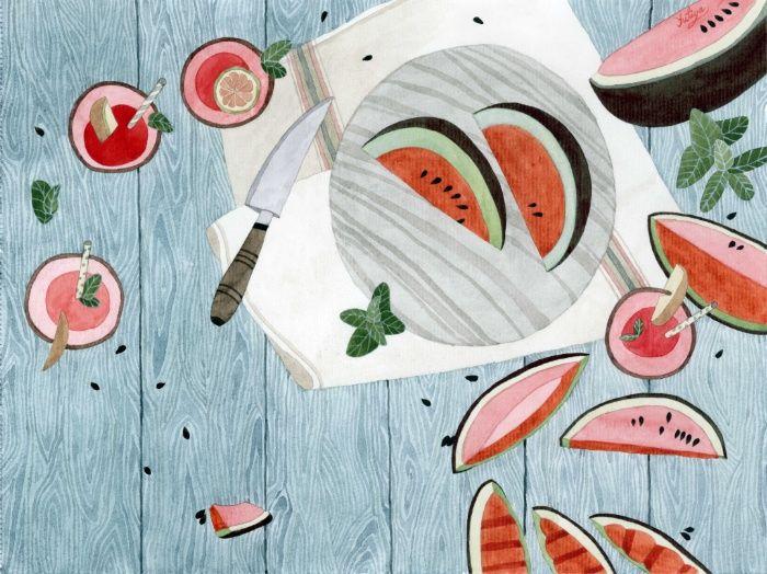 The Watermelon Season - Yuliya
