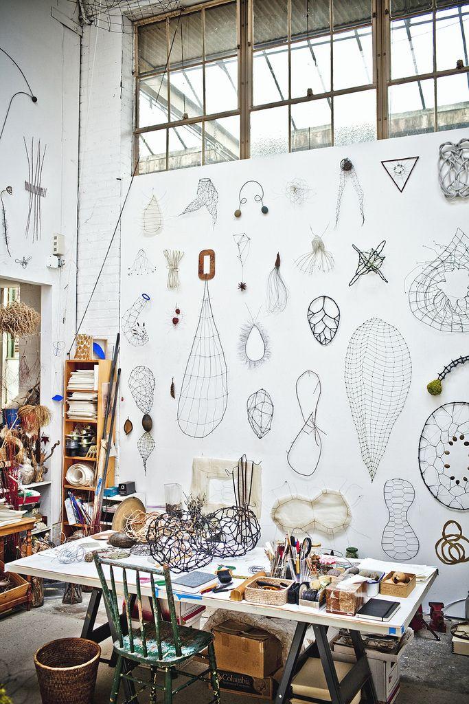 // mari andrews' studio