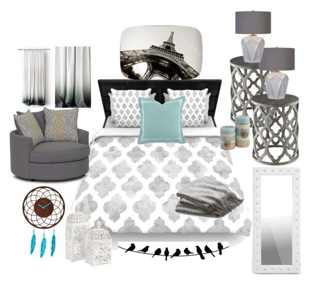 """""""Love this!"""" by melinda-elizabeth on Polyvore featuring interior, interiors, interior design, home, home decor, interior decorating, Crate and Barrel, Barclay Butera and Baxton Studio"""