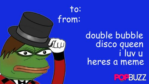 It's a brendon urie pepe. These come around every 777 years at 9 nine in the afternoon. Reblog