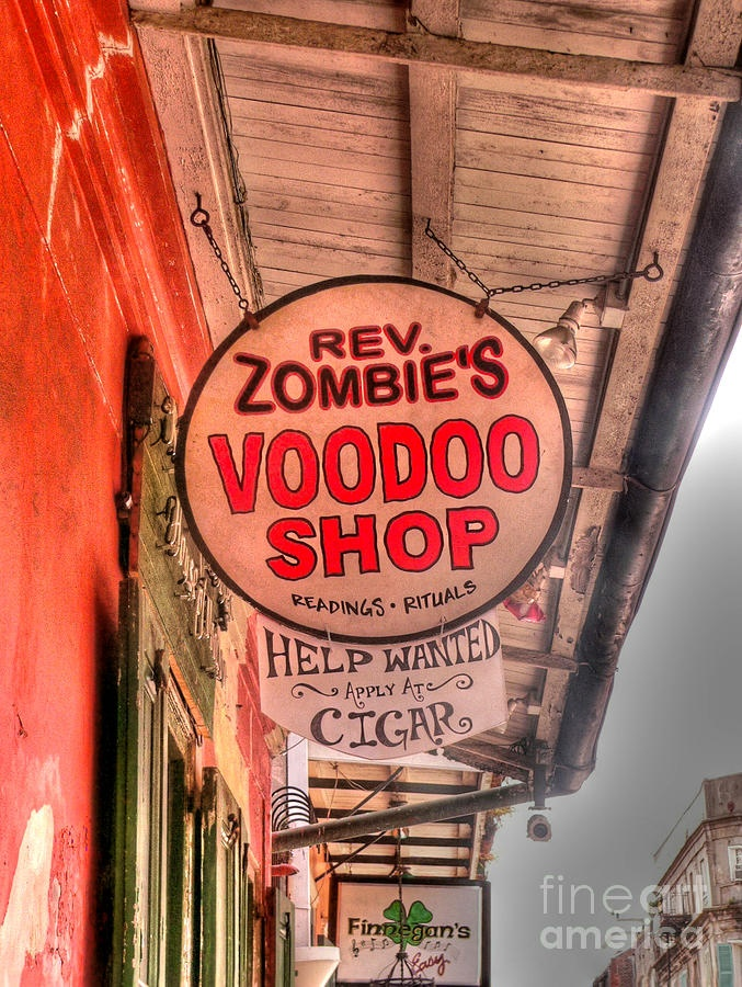 New Orleans, Reverent Zombie's Voodoo Shop..been there!