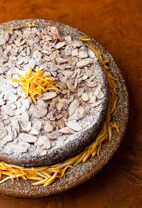 Gateau Grand Marnier - Orange Liqueur Cake