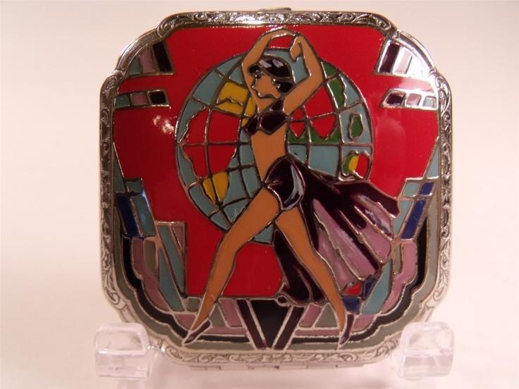 Art Deco J.M. Fisher Compact