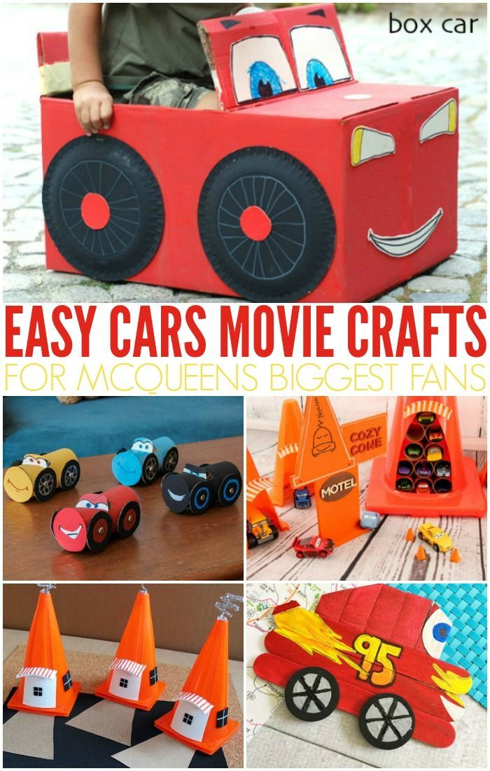 Easy Cars Movie Crafts Crafts Everything Diy Group Board Fun