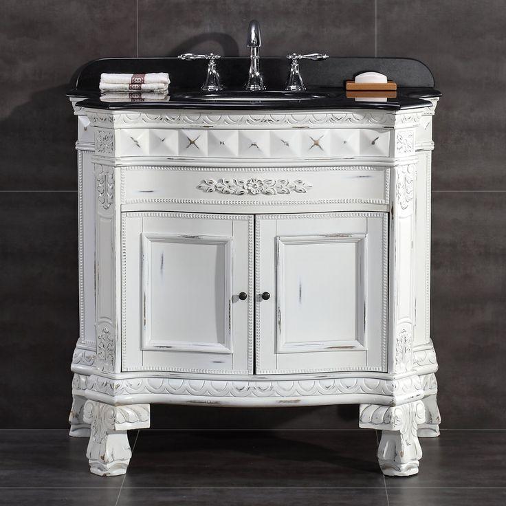 OVE Decors York 36 in. Single Bathroom Vanity - YORK 36 VANITY IN WHITE