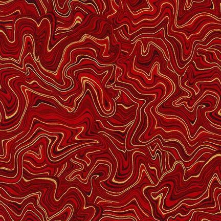 Robert Kaufman - Holiday Flourish 11 APTM-17341-3 RED