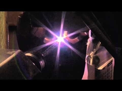 Micro-GTAW / Tig Welding Process #automation #tig #microgtaw #welding #technology #howdoyouinnovate