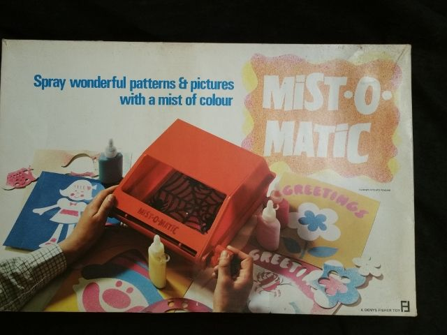 Mist-O-Matic 1970 UNUSED Spray Pattern Toy Spirograph Style by Denys Fisher