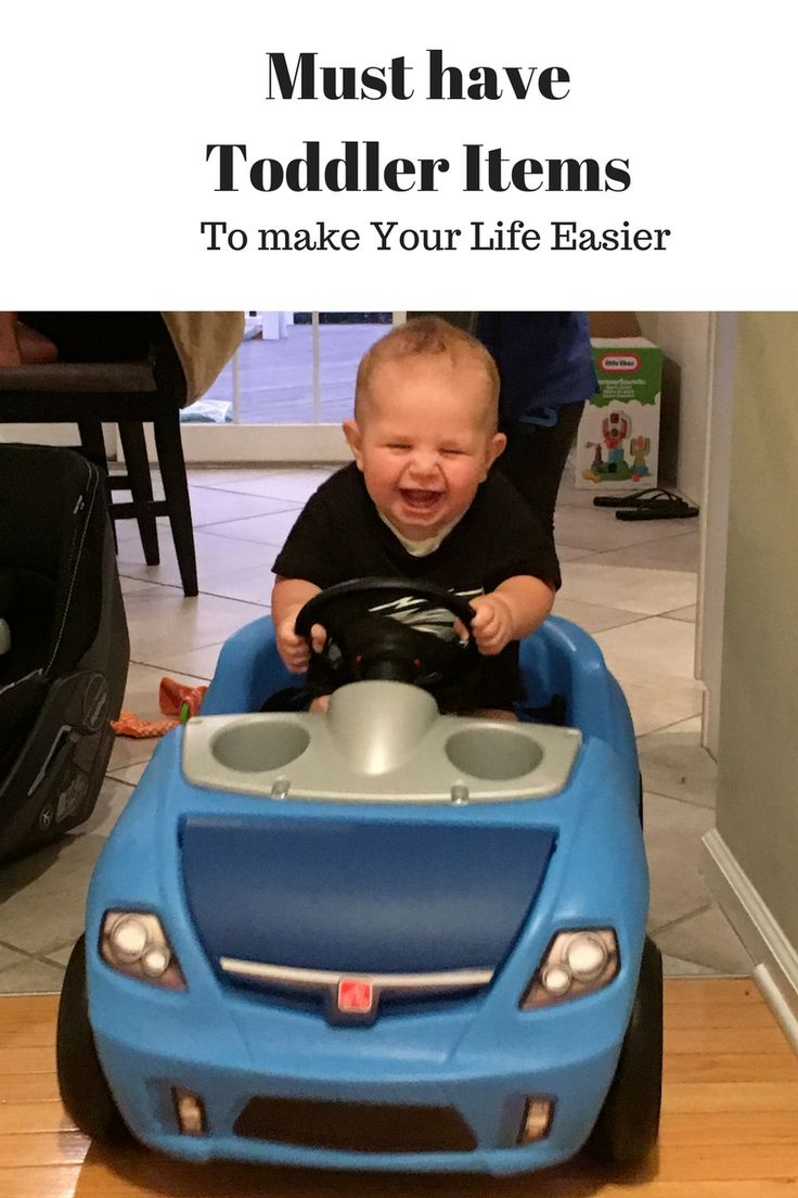 Must have toddler items to make your life a little bit easier.