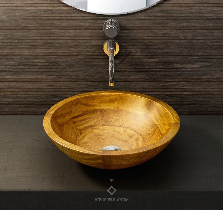 OROKO #wooden #basin