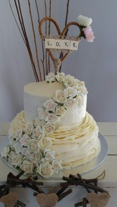 Michelle wedding cake