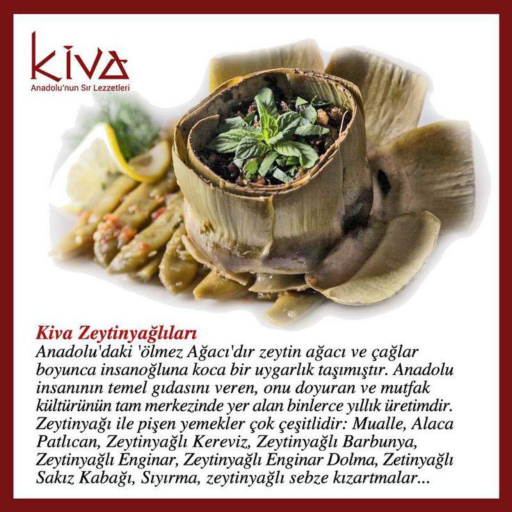 Anadolu mutfağının vazgeçilmezi zeytinyağlılar, Kiva Ankara farkıyla sizlerle buluşuyor!  #kivaankara #ankara #turkishrestaurant #turkishcuisine #cuisine #restoran