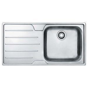 Eurodomo Seville Inset Sink Right Bowl - SSX611RHD