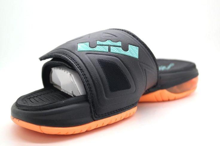 finest selection 5c92a 5a533 ... real mens nike air lebron 3 elite slide sandals 631260 038 size 11 lbj  rare da49a