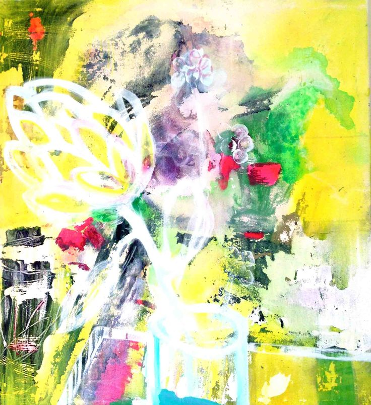 Protea and Buds by ali mcnabney-stevens. Contact Julia Green at julia@greenhouseinteriors.com.au