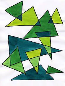 Neue Geometrische Formen, Ton in Ton