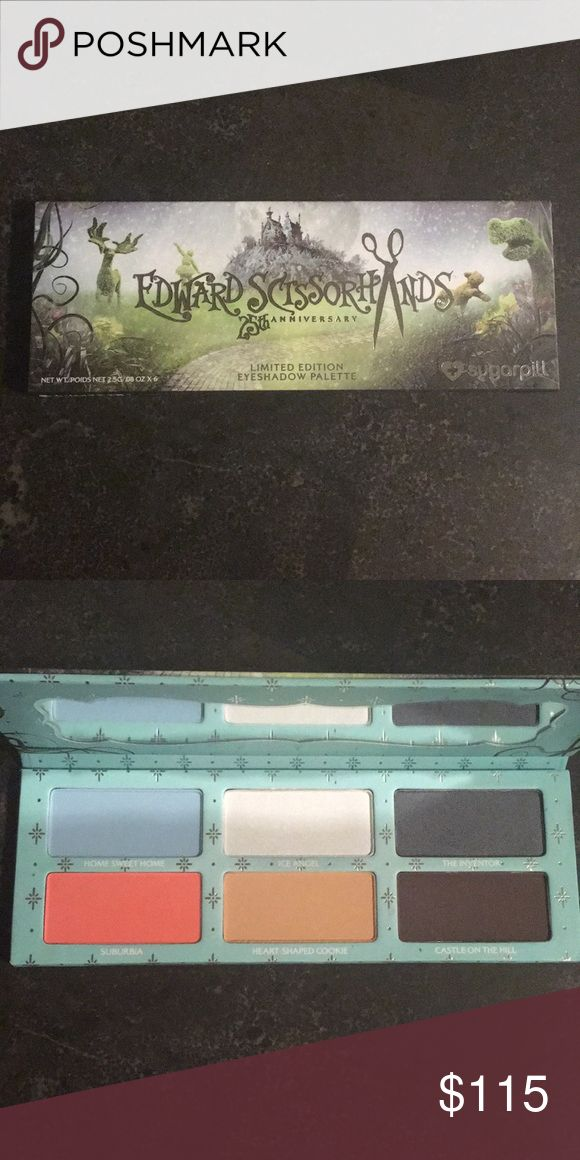 Edward Scissor Hands 25th Anniversary Brand new with packaging! NWT Makeup Eyeshadow