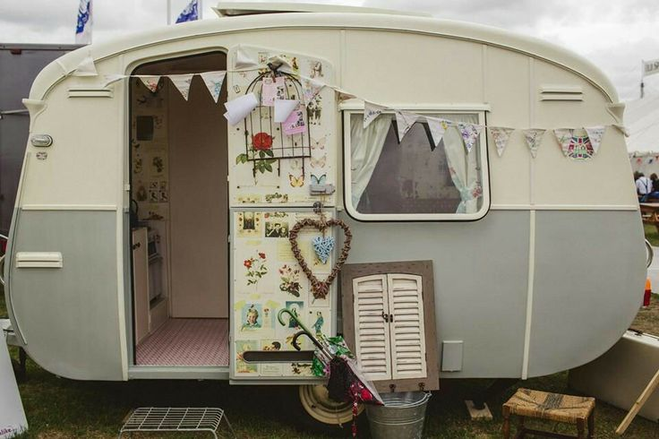 'Lucy' our vintage caravan available for event hire